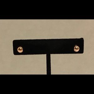 Jewelry - Set of 2 Rose Gold Tone Ball Stud Earrings